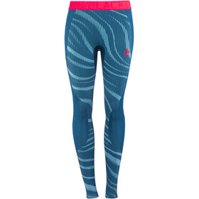 Odlo Suw Performance Blackcomb Bottom Pants Women poseidon-turkish tile-diva pink